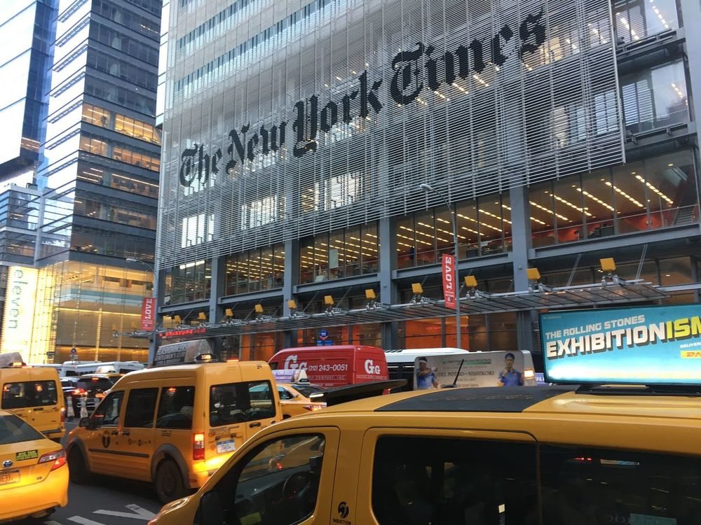 New York Times Architecture Landmark Newspaper Publisher International