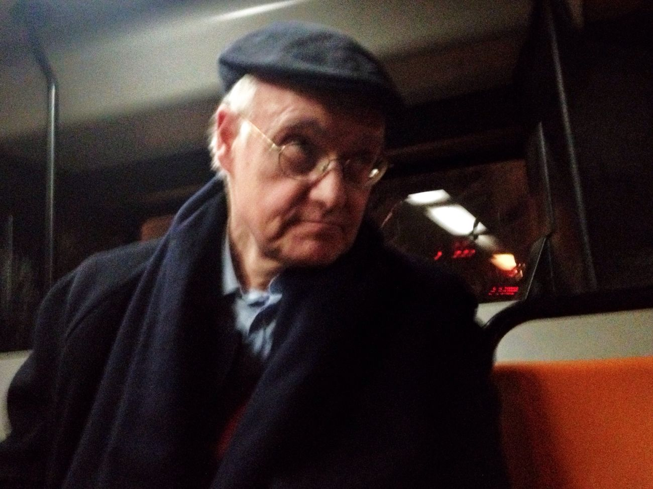 Last Night Man Bus Public Transportation Nightbus Colors Color Portrait Streetphotography David De La Cruz People Of EyeEm