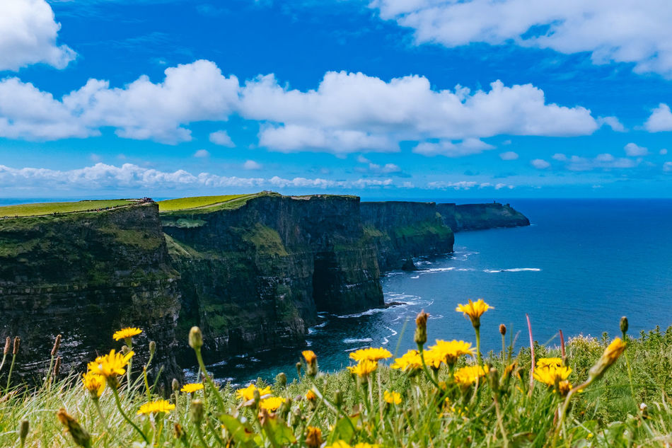 Beautiful stock photos of ireland, Beauty In Nature, Blue, Cliff, Cliffs Of Moher