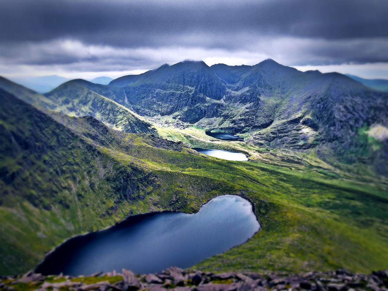 Flashback to Summer 2016 Beauty In Nature Carrauntoohil Hag's Glen Lough Callee Lough Gouragh Lough Cummeenapeasta Cloud - Sky Ireland Lakeshore Landscape Lough Macgillycuddy's Reeks Mountain Mountain Range Nature Outdoors Scenics Sky Tranquil Scene Tranquility Betterlandscapes Miles Away