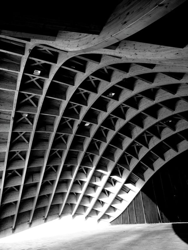 Wooden Structure Square Triangle Light And Shadow Light Shadow Showcase: January Streetphotography Black & White Black And White Blackandwhite Sceen Curtain Bytom Silesia Wasiak Moto X