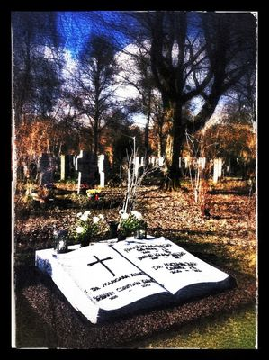 Friedhof at Westfriedhof by Kriz