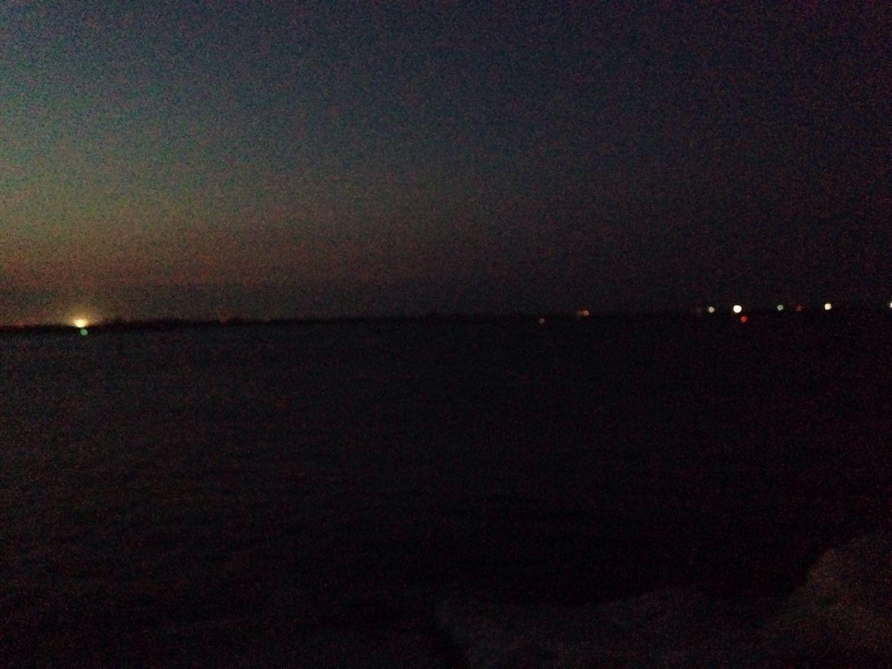 night, illuminated, sky, nature, scenics, sea, no people, outdoors, beauty in nature, water