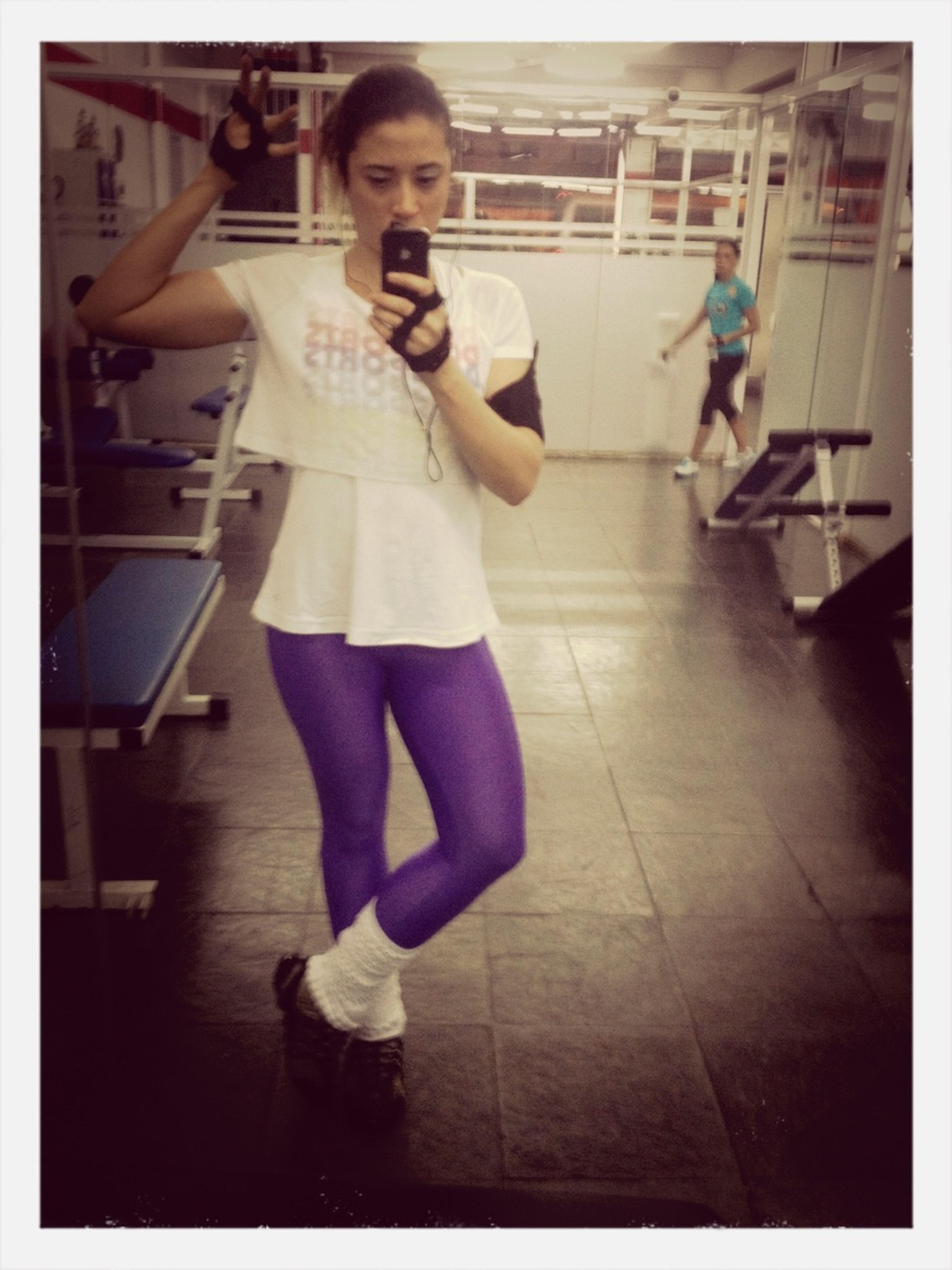 Hardwork In Gym
