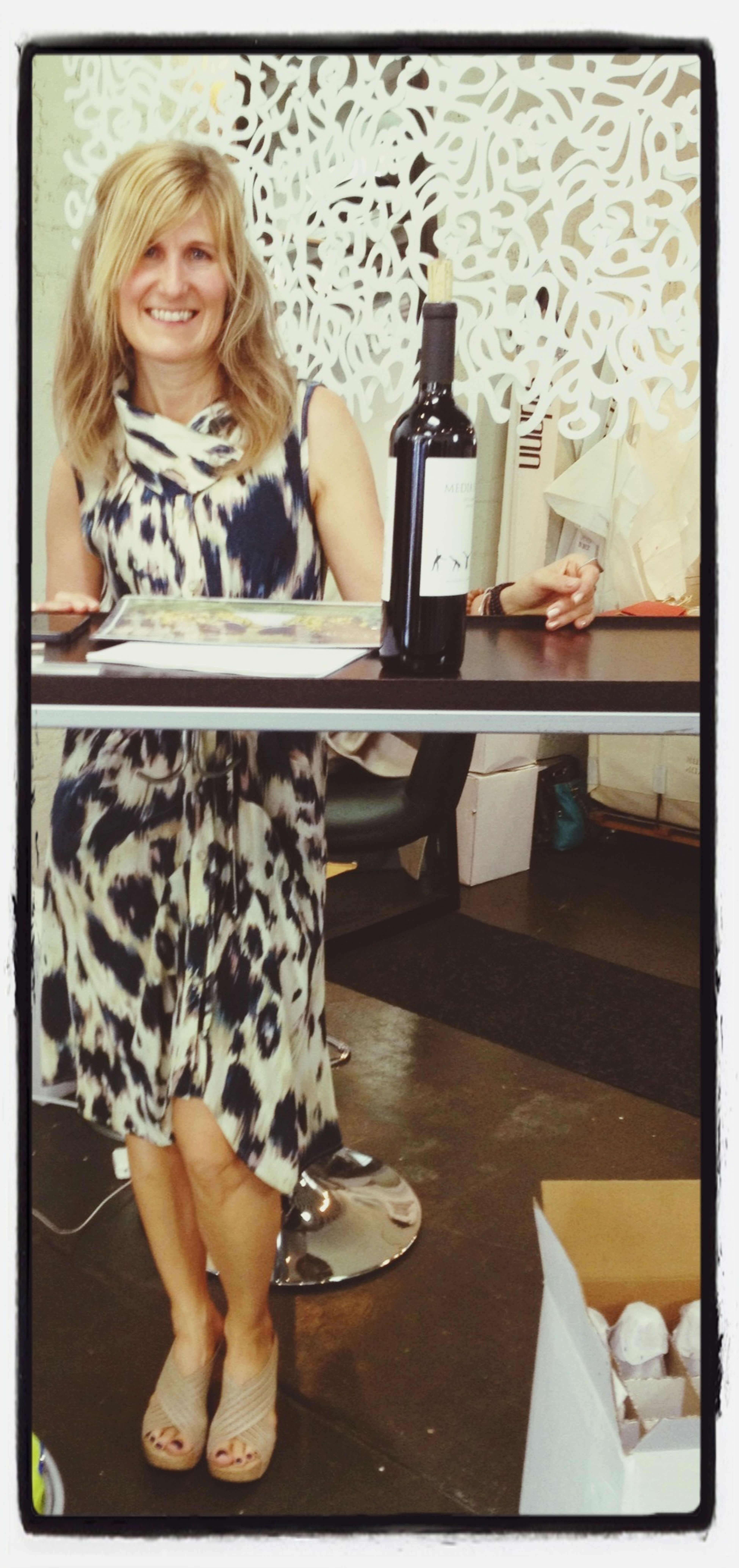 May I pour you a glass of Media Luna Vineyards Wine ? Salud