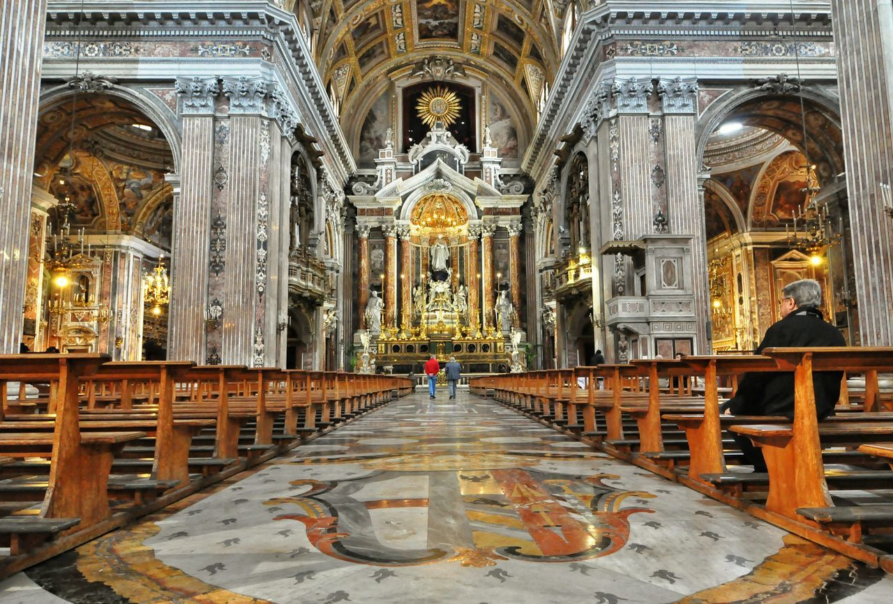 Awesomeplace EyeEm Best Shots - Architecture Cityphotography Napoli Cathedral Basilic Chiesa Del Gesù EyeEm City Photography Catholic Church Italy Arquitecture And Art