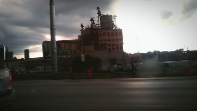 First Eyeem Photo Fort Worth Outdoors Factory Sunset Cloudy Roadscenes Afternoon Before Rain Life Eyeemphotography