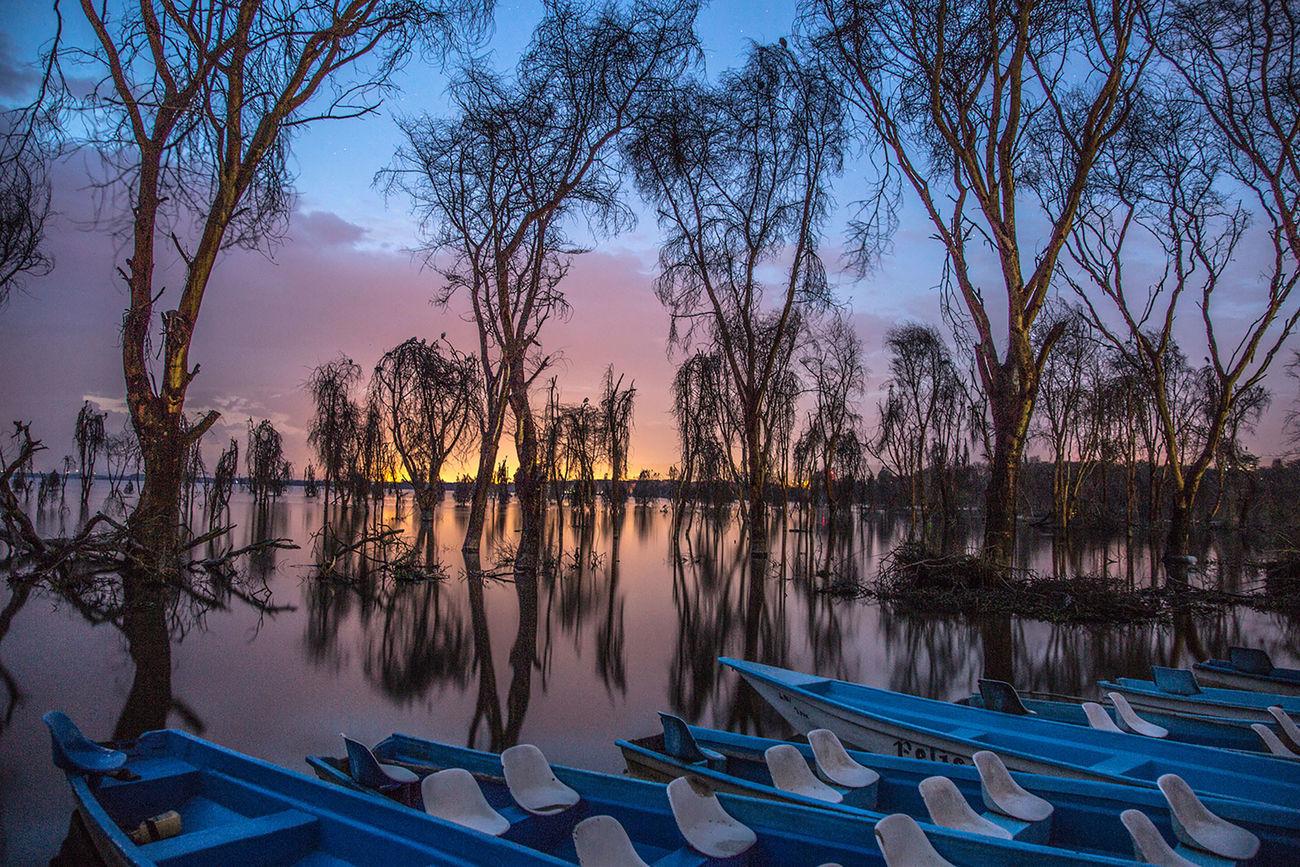 The Great Outdoors - 2017 EyeEm Awards Sunset Water Kenya Lake
