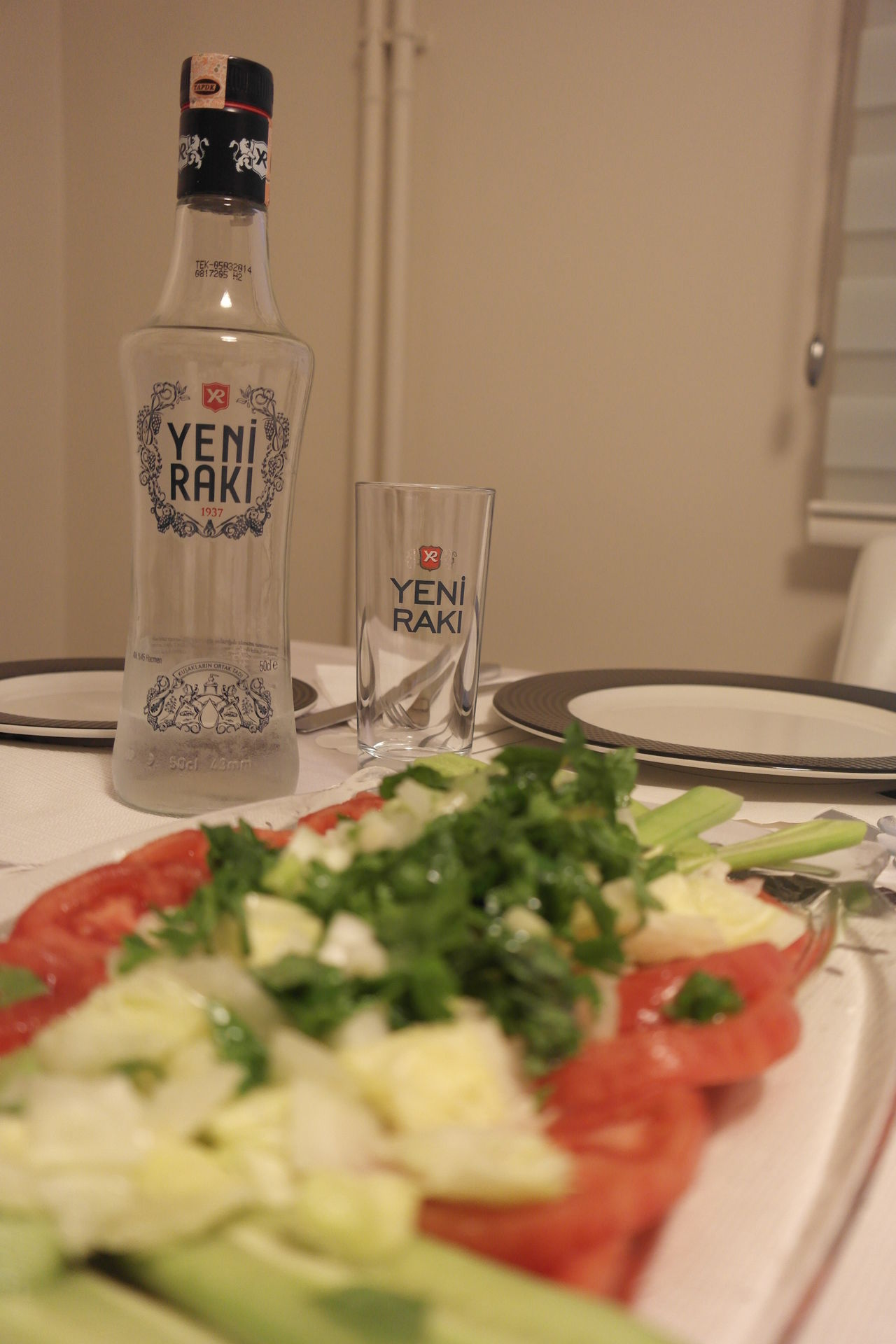 Alcohol Drink Drinking Glass Enjoying A Meal Food And Drink Food And Drink Glass Indoors  Plate RAKI Refreshment Still Life Table Turkish Raki Homemade Homecooked Homemade Food Homecooking