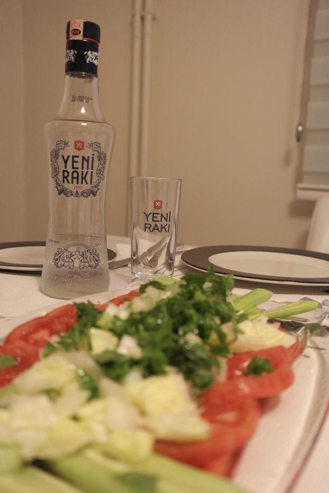 Alcohol Drink Drinking Glass Enjoying A Meal Food And Drink Food And Drink Glass Indoors  Plate RAKI Refreshment Still Life Table Turkish Raki Homemade Homecooked Homemade Food Homecooking