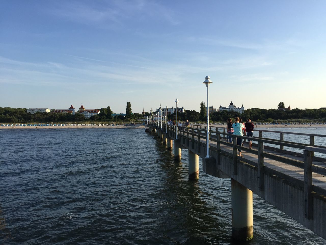 Pier Seebrücke Ostsee Baltic Sea Sea Coast