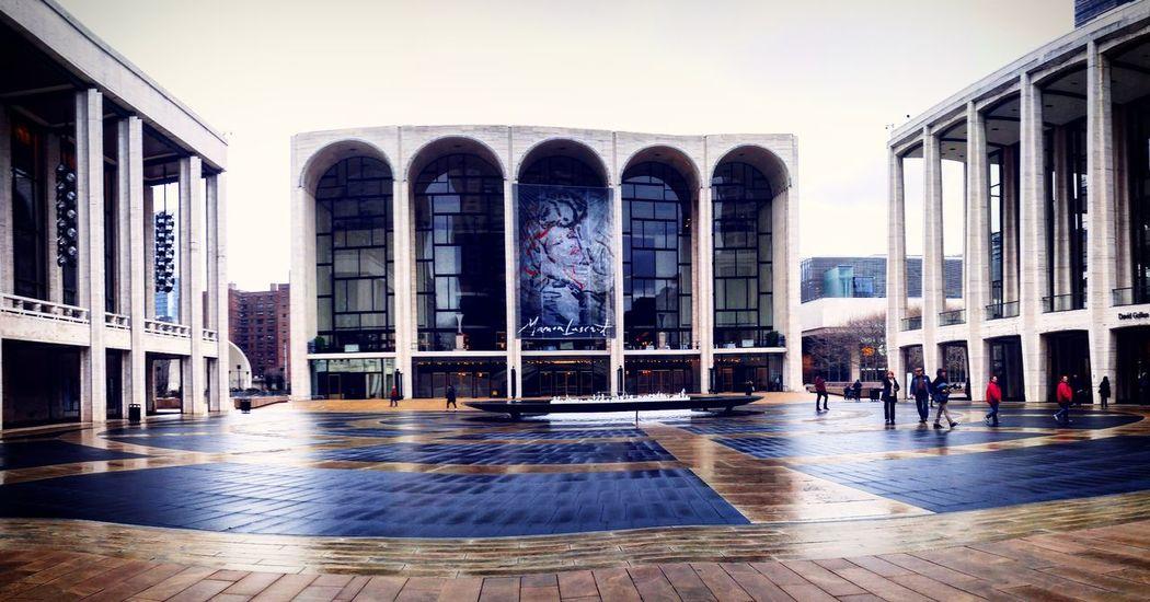 Lincoln Center NYC Manhattan Music