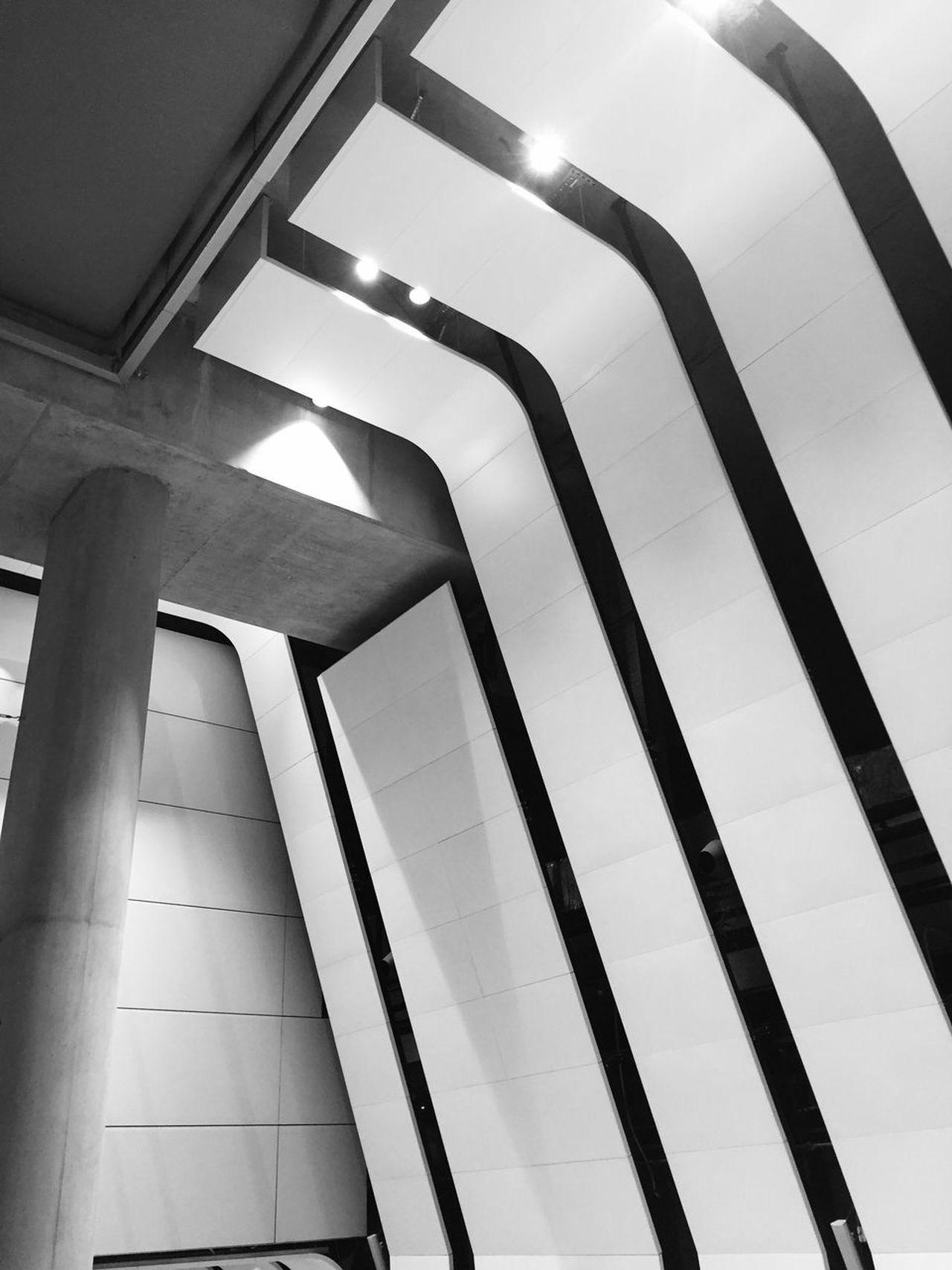Arriving at Heathrow Terminal 5. Home sweet home :) Iphone6 Blackandwhite Light Interior Design Interior Building Design