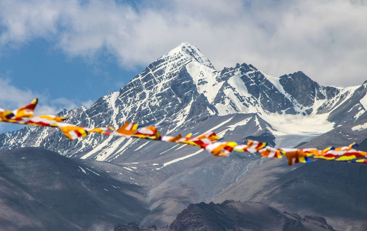 Beautiful stock photos of india, Beauty In Nature, Bunting, Cloud - Sky, Cold Temperature
