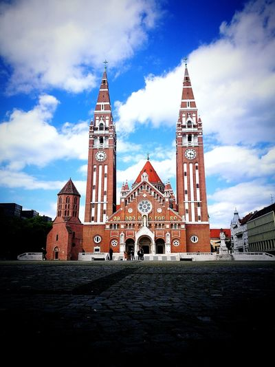 Szeged Architecture Sky Cloud - Sky Outdoors City First Eyeem Photo EyeEmNewHere