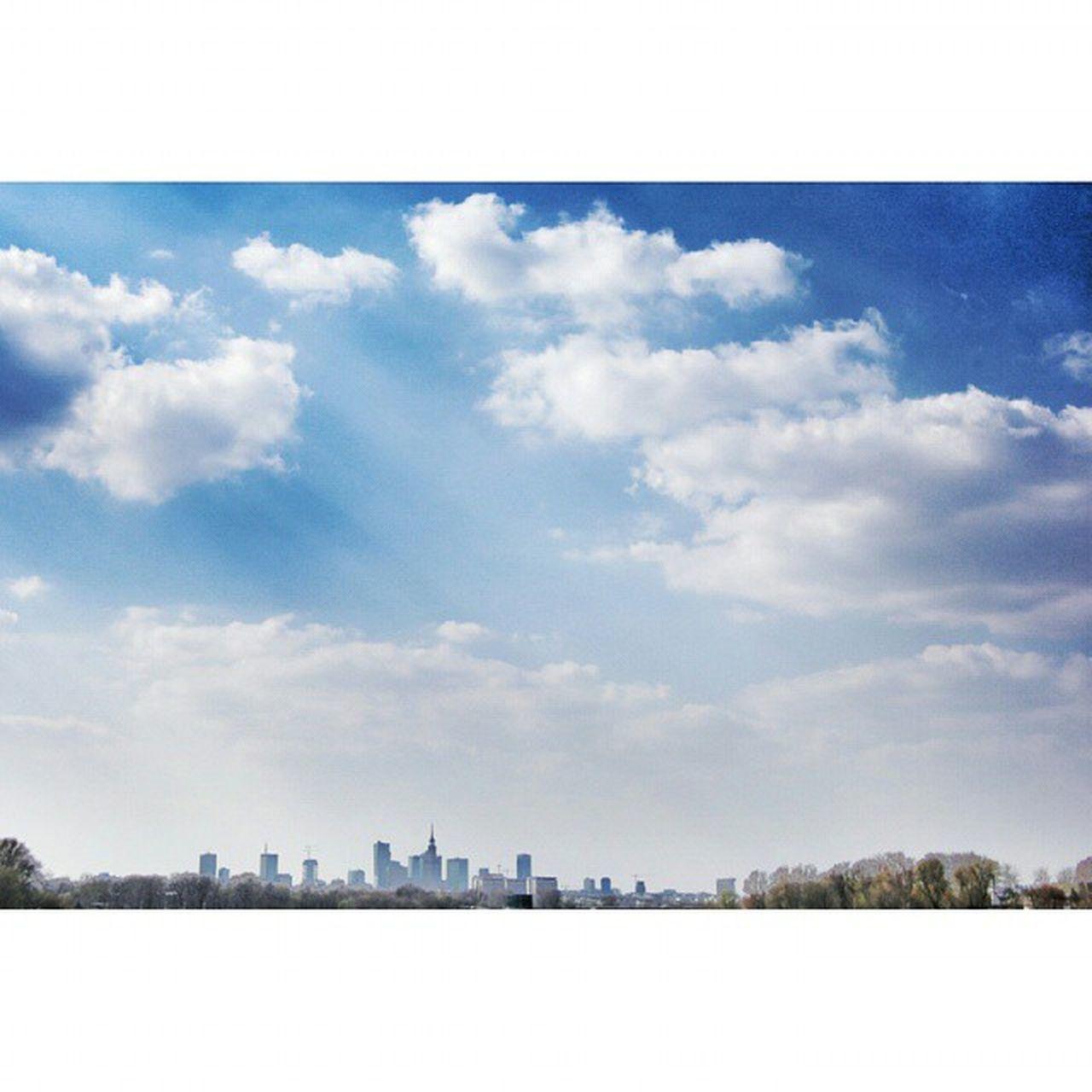 Warszawa  Warsaw Wwa Stolica Landscape Capitol Sky Bluesky Wisla Canon Gtcreate
