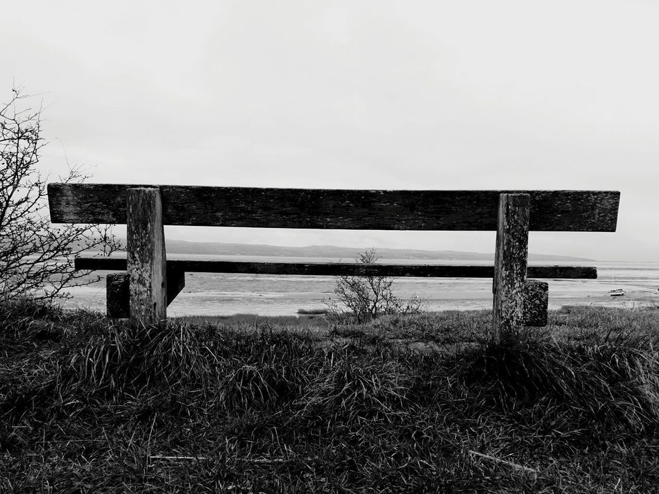 Thurstaston Beach Merseyside Blackandwhite Photography No People Nature Sky Day Vacations Outdoors Cloud - Sky Sea Beach Water Wirral