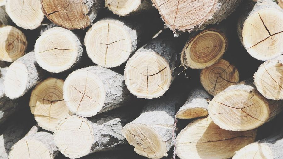 Woodpile Stack Timber Log Lumber Industry Wood - Material Textured  Large Group Of Objects Pattern No People Full Frame