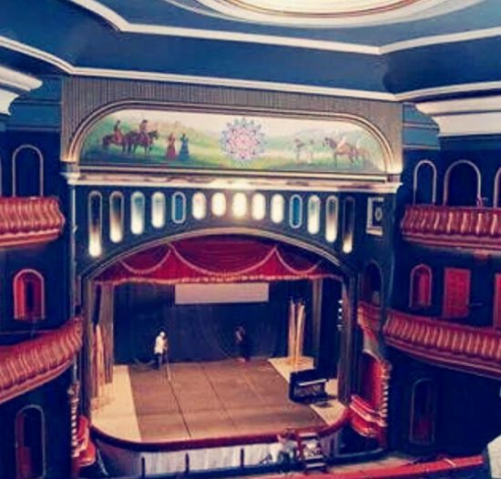 Stage Theater Stage - Performance Space Arts Culture And Entertainment Theatrical Performance Balcony Architecture Indoors  Chair Musical Theater  Performing Arts Event Performance No People Nightlife Auditorium Film Industry Day