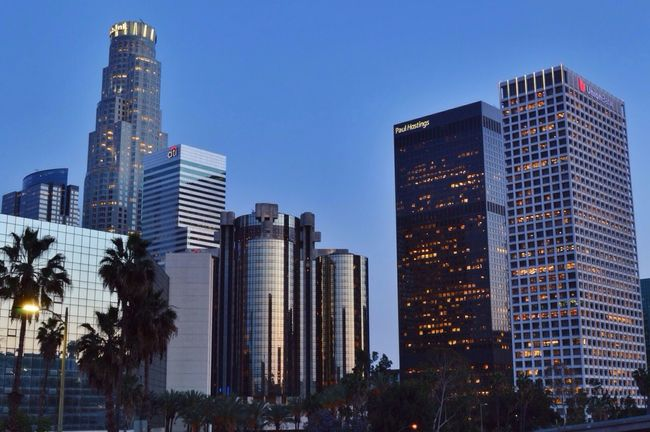 Good morning LA! Long Exposure HDR Losangeles Architecture Enjoying The Sights