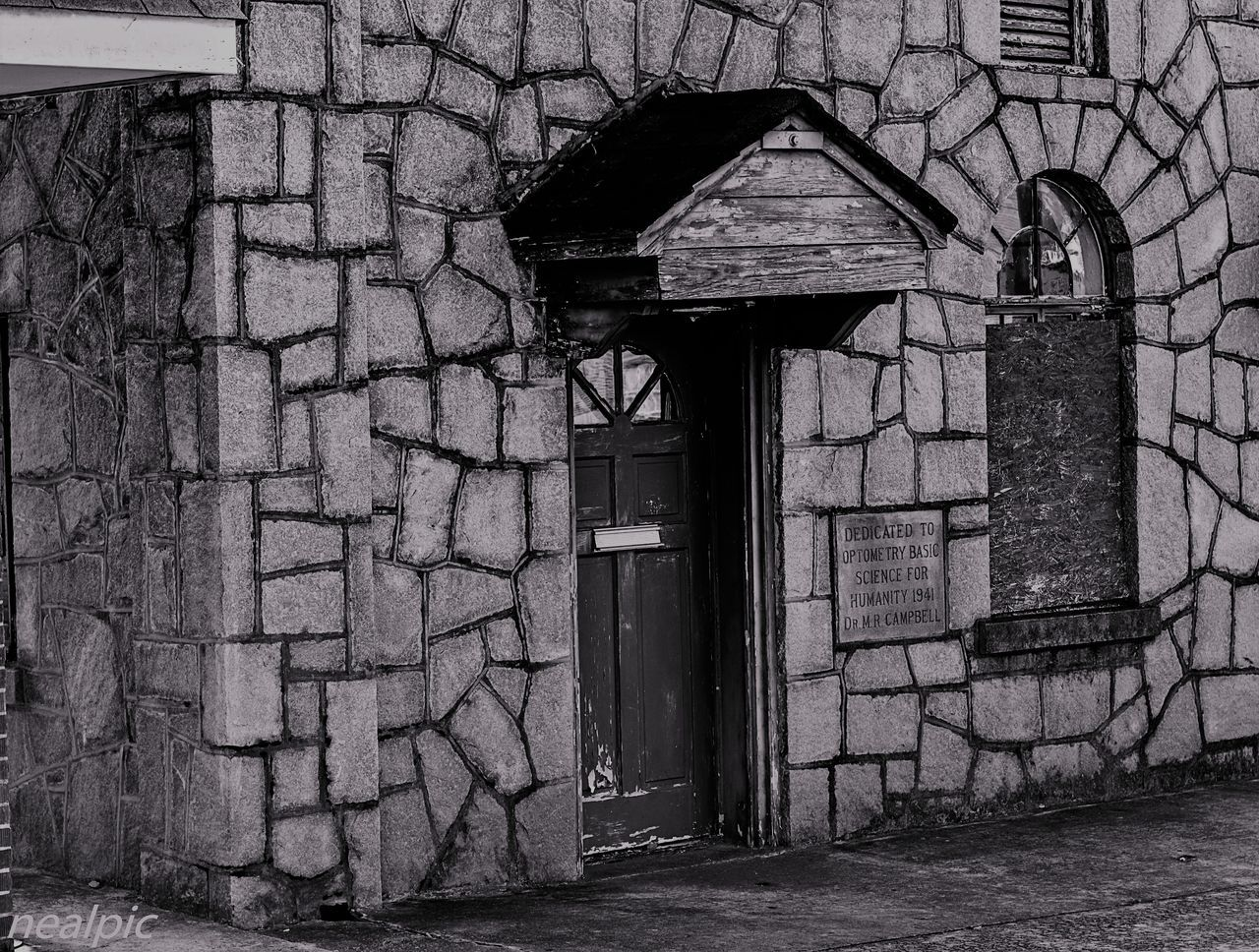 Architecture Brick Wall Building Exterior Built Structure Day Door House No People Outdoors Urbanphotography