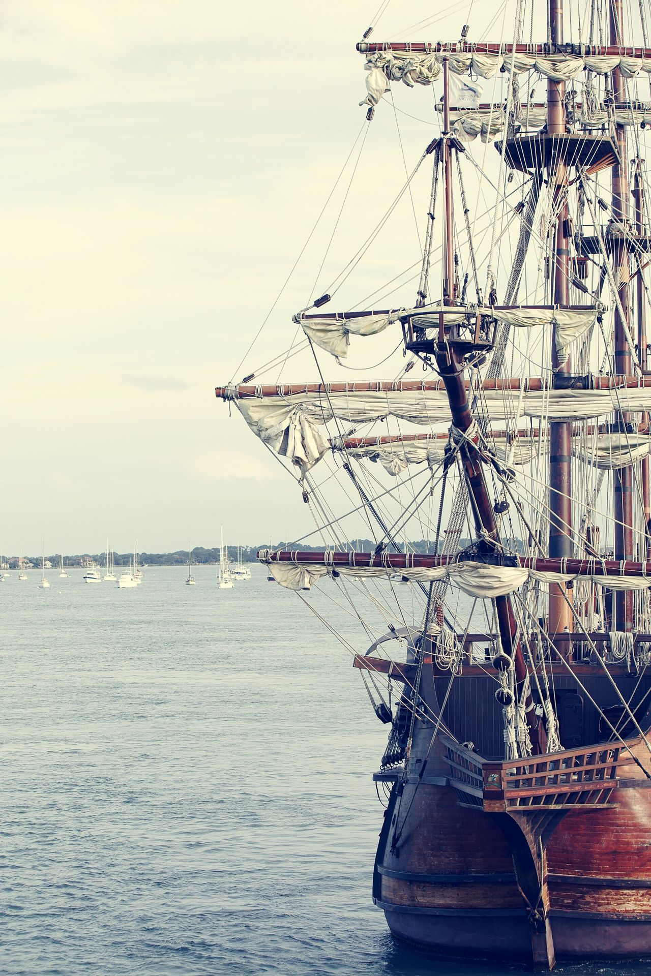 Pirates Ship Boat Antique Bay The Traveler - 2015 EyeEm Awards Georgia USA St Augustine The Adventure Handbook