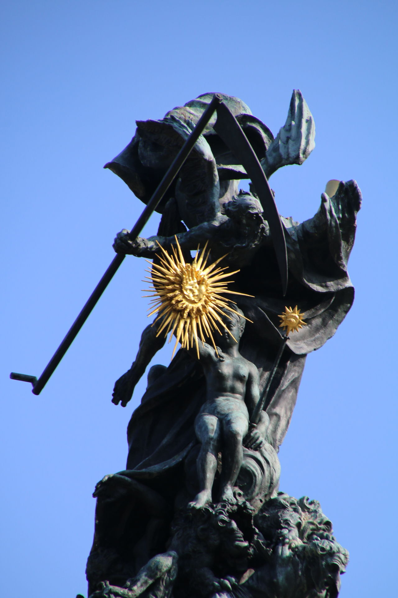 Archival No People Flower City Sword Sculpture Sky Outdoors Astrology Sign Day Mannheim