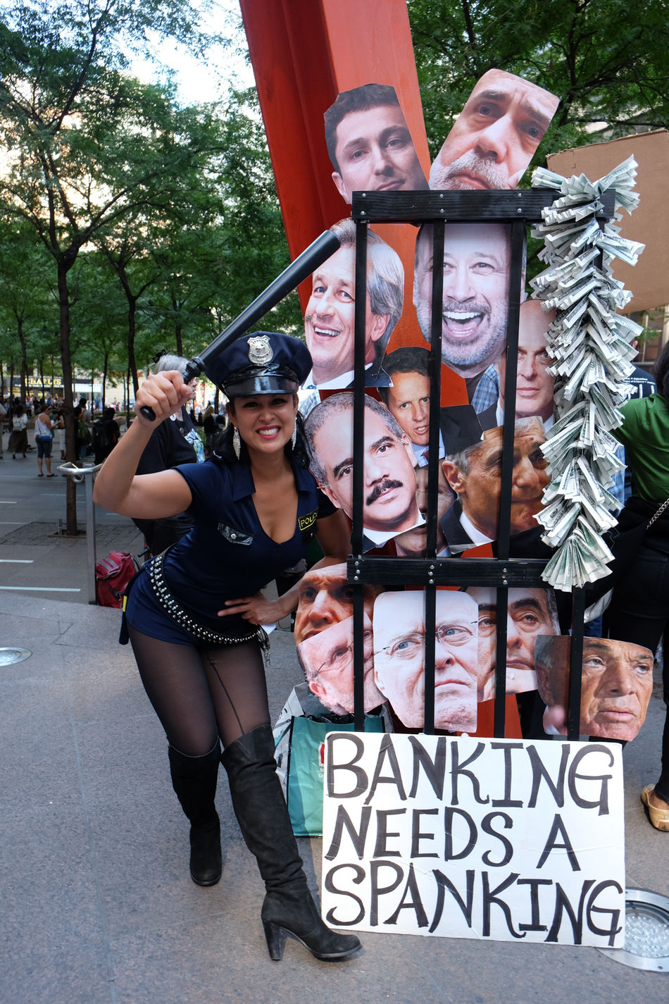 At the five year anniversary of Occupy Wall Street. Signs galore, teach-ins. The movement continues. 5 Year Anniversary Activism Art Commentall Financial District  Lower Manhattan Manhattan NY Occupy Wall Street OWS Political Activism Political Commentary Zuccotti Park