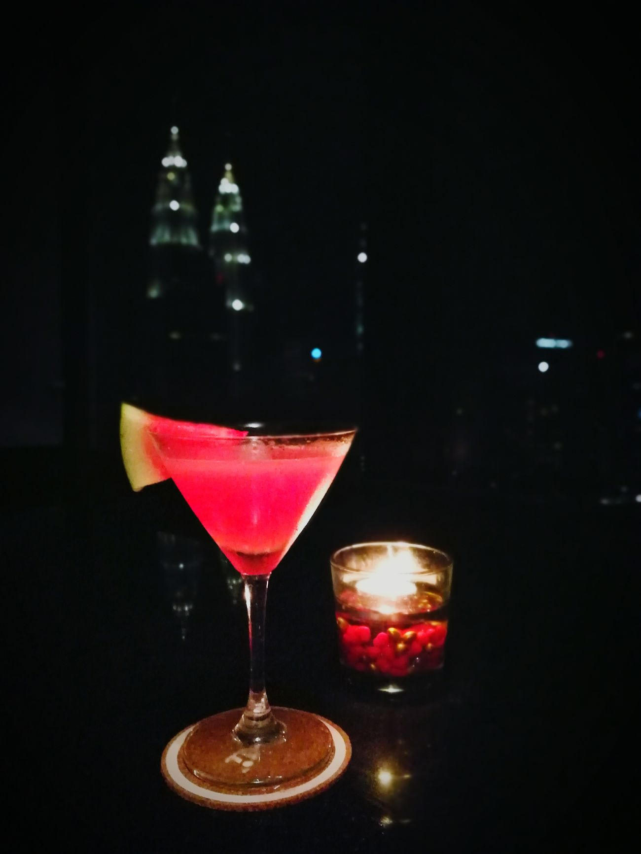 Melontini 🍸 Discover Your City Cocktail Freshness Close-up Barhopping Klcity Kuala Lumpur Malaysia  Nightlife Night View Martini Glass