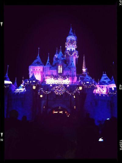 Disney castle #disney #castle #christmas