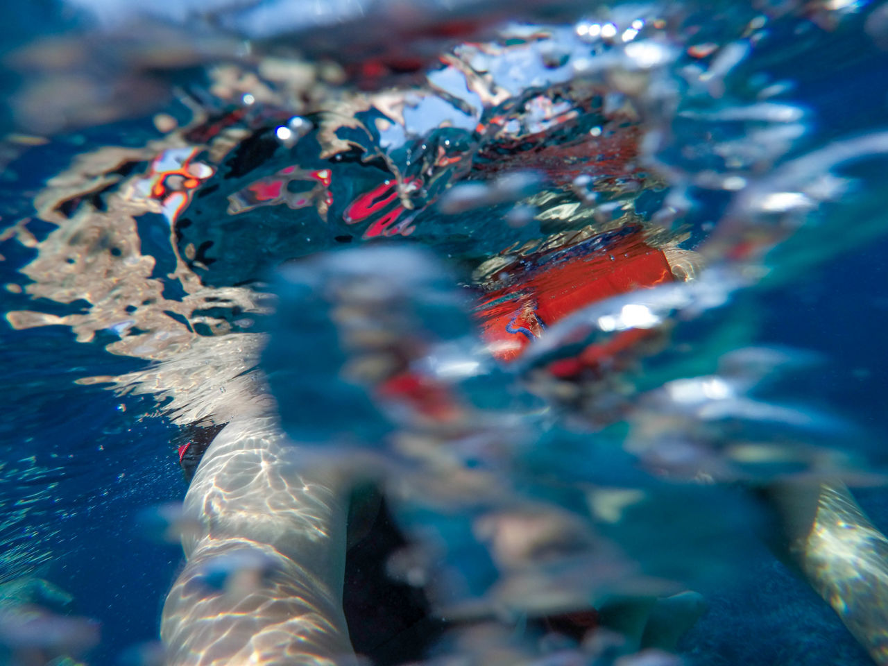 selective focus, close-up, multi colored, water, no people, indoors, blue, day