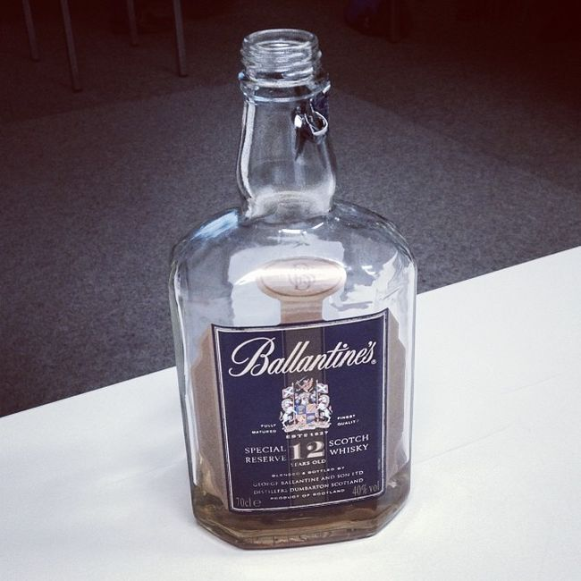Ballantines Special Reserve 12 years #whiskyVHS Whiskyvhs