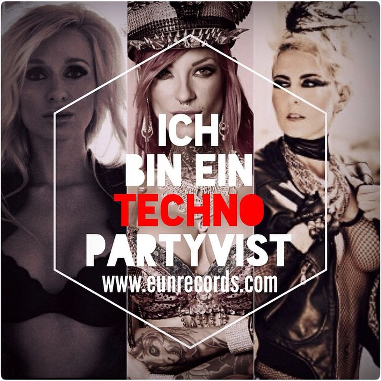 Techno Partyvist  Ade14 EUNRECORDS