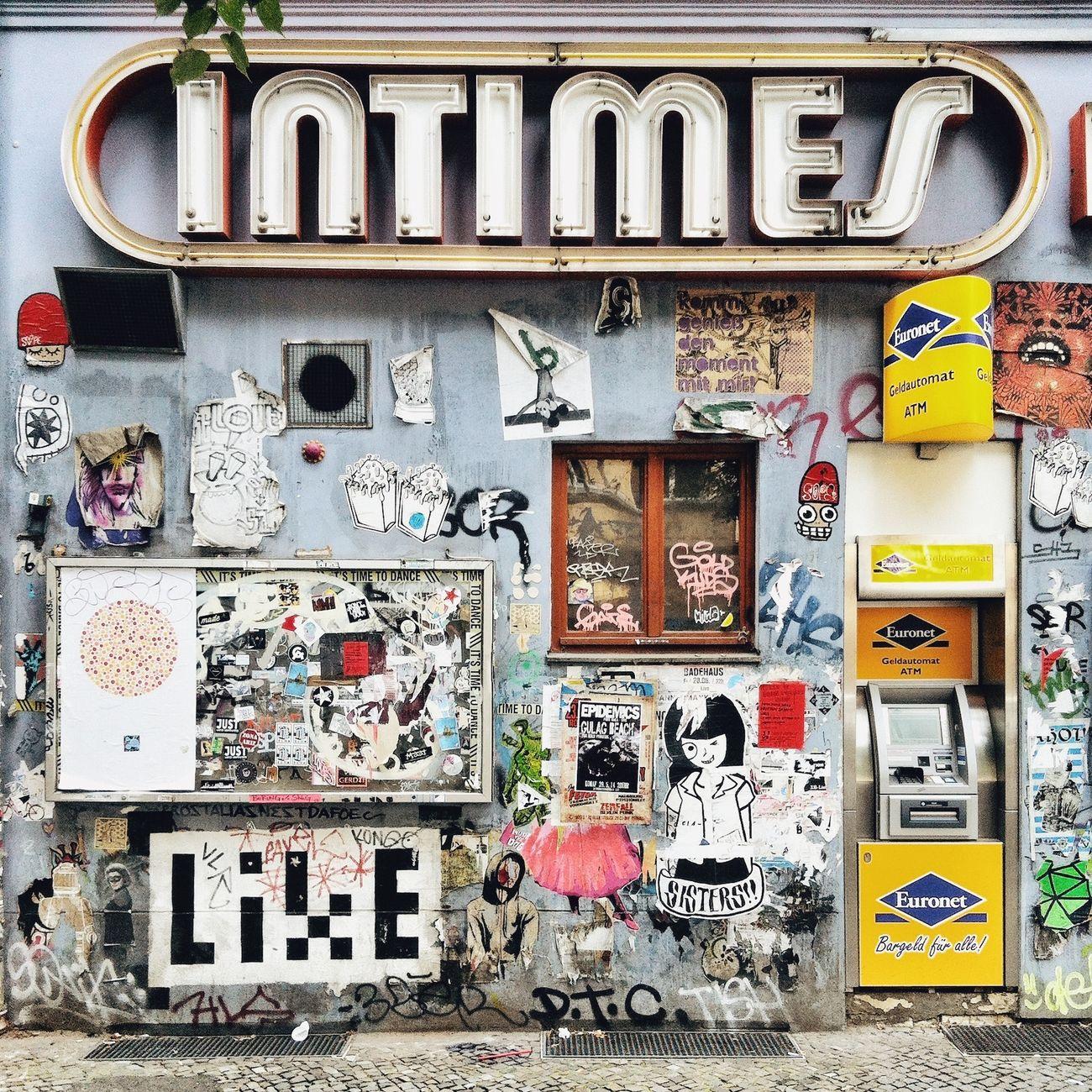 Urban Exploration Street Art/Graffiti My Fucking Berlin