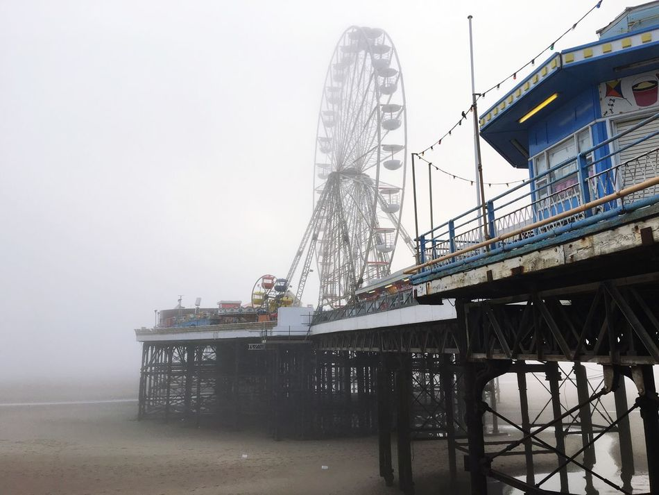 Seamist Blackpool Funfair🎡 Big Wheel Pier