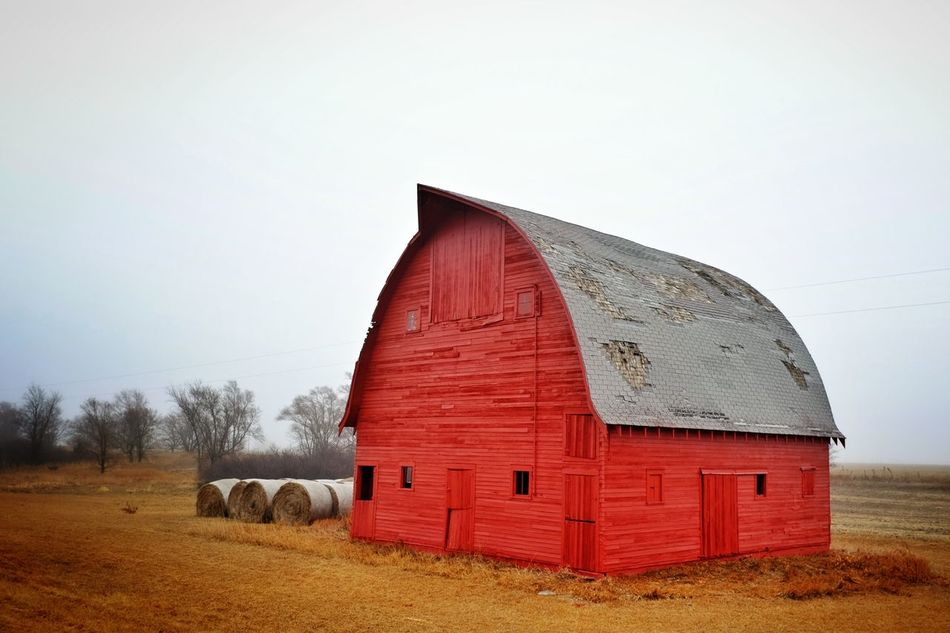 Beautiful stock photos of red, Agriculture, Architecture, Bale, Building Exterior