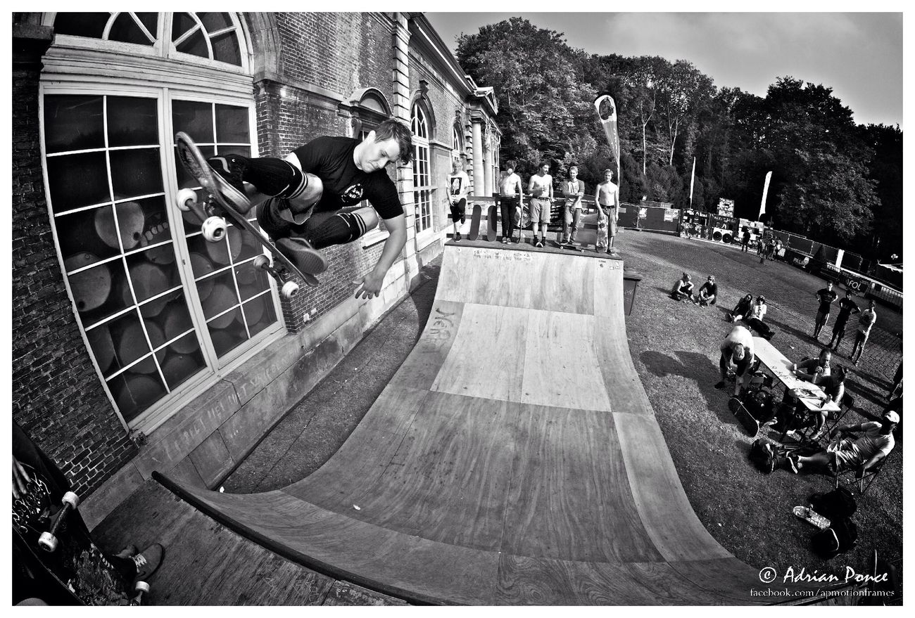 Maarten Van den Bossche at Mekitburn Festival Belgium Skateboarding Summer Belgium Skate Media Blackandwhite Streetphotography Lifestyle Taking Photos Photography EyeEm Best Shots