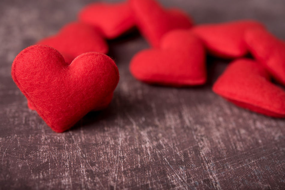 Close-up Day Food Freshness Heart Shape Indoors  Love No People Red Still Life Sweet Food Table Wood - Material