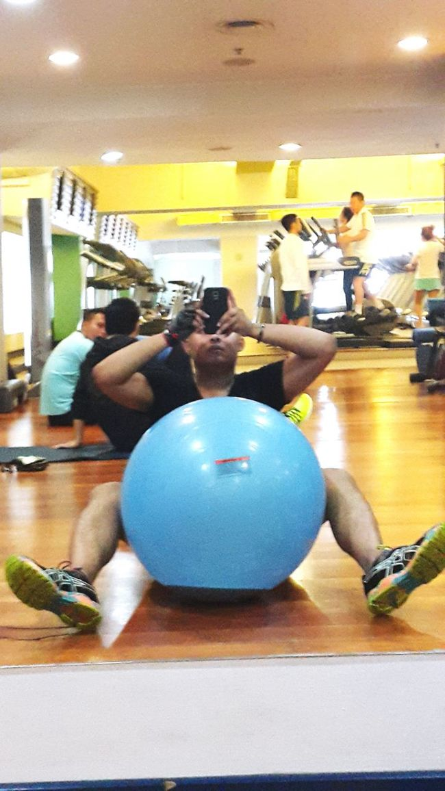 SaaTnya NgeGym ? Gym Time Jakarta Indonesia Litlemonster