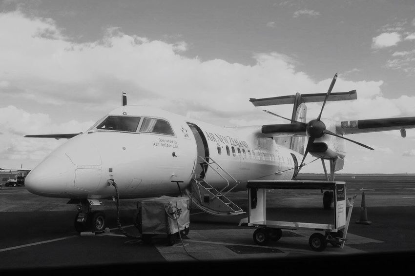 Let me take you for a ride on my big jet plane Airnewzealand Airnz Plane Jetplane Blenheim Auckland Sky