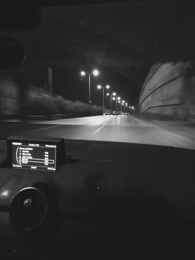 Car Drive Bynight Audi First Eyeem Photo