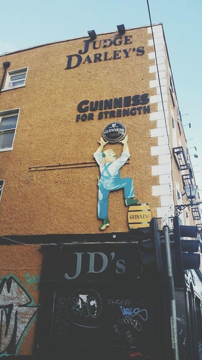 Guinness Beer Ireland🍀 Gmorning🌞 Hello World That's Me City I Love It ❤ Fantastic Sunny☀
