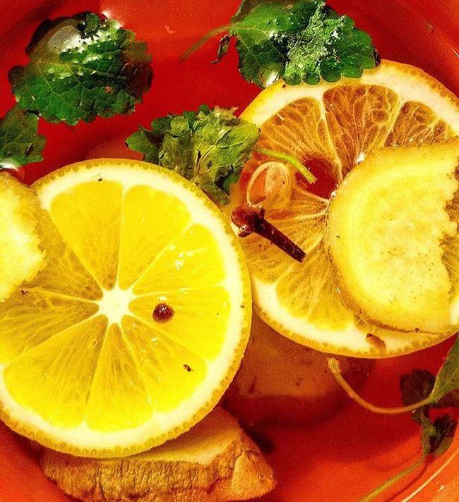 Namedaydrink Hottea Ginger Herbs Lemonbalm Clove Lemon Flufighter Flugoaway Tea Natural Healthychoices
