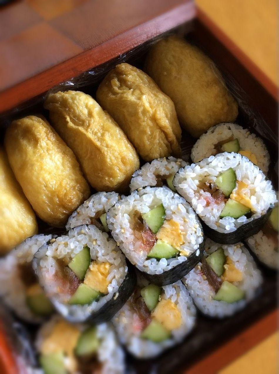 Food In My Mouf Japanese Food Homemade Yummy Makizushi Oinarisan Inarizushi