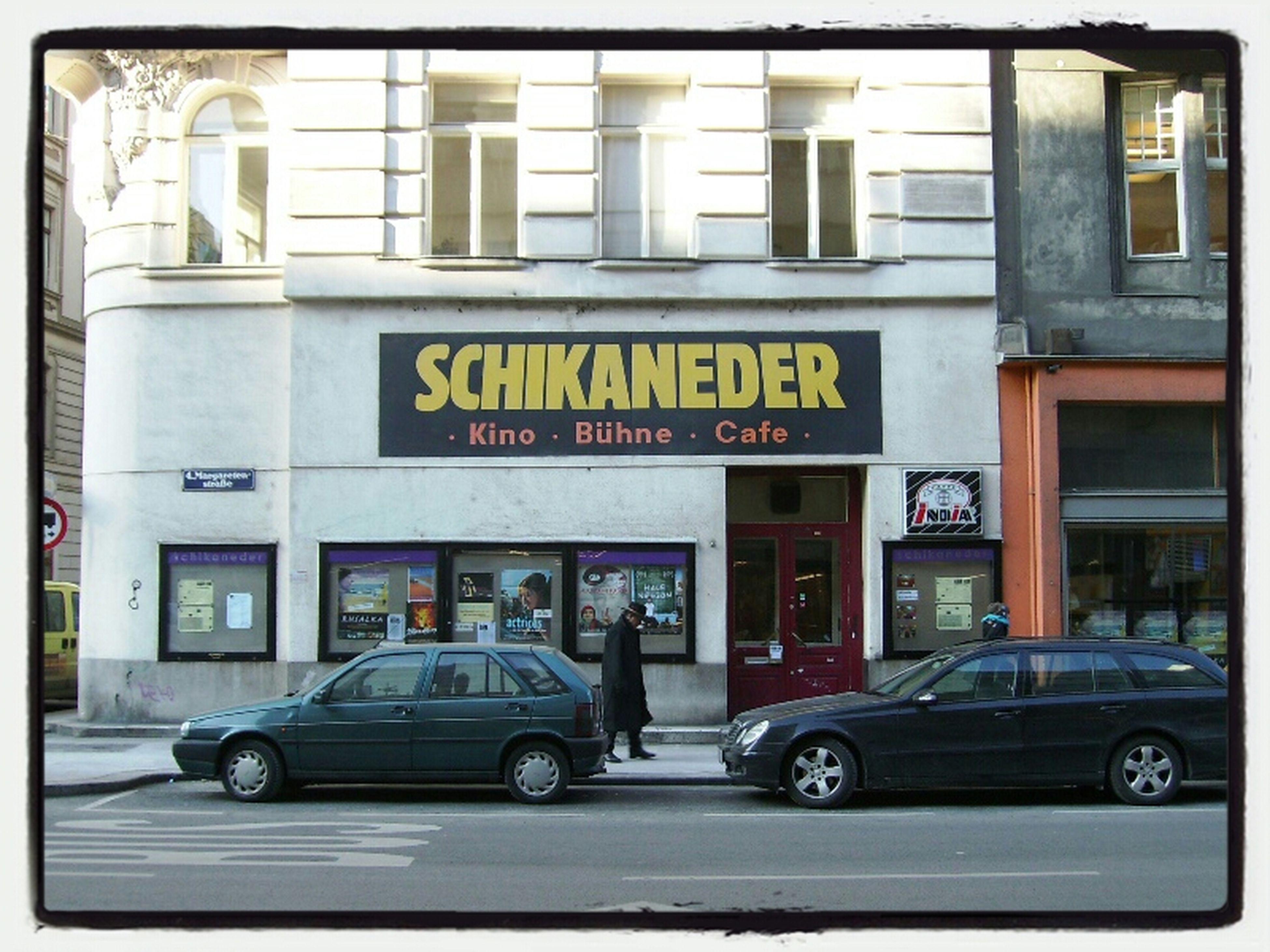 Cafe Bühne Kino Schikaneder