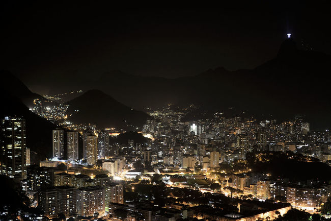 Cityscapes this is a view of my Rio De Janeiro capturing the Christ The Redeemer from the Sugarloaf mountain At Night ! Beautiful Day Nightphotography Night Lights EyeEm Best Shots Eye4photography