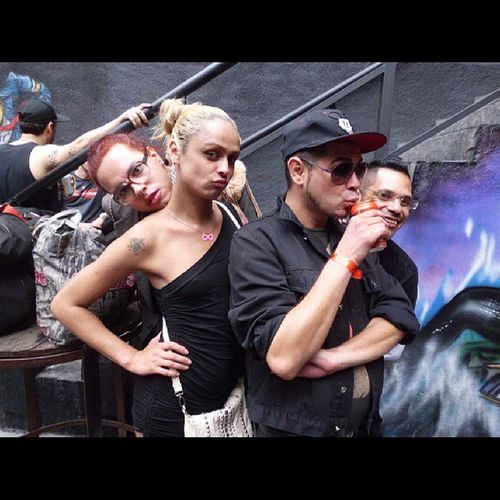 Brechó  do Fabiofranca no After BlackRubber @madameclub Afterhours underground techno eletro Xampy Dara