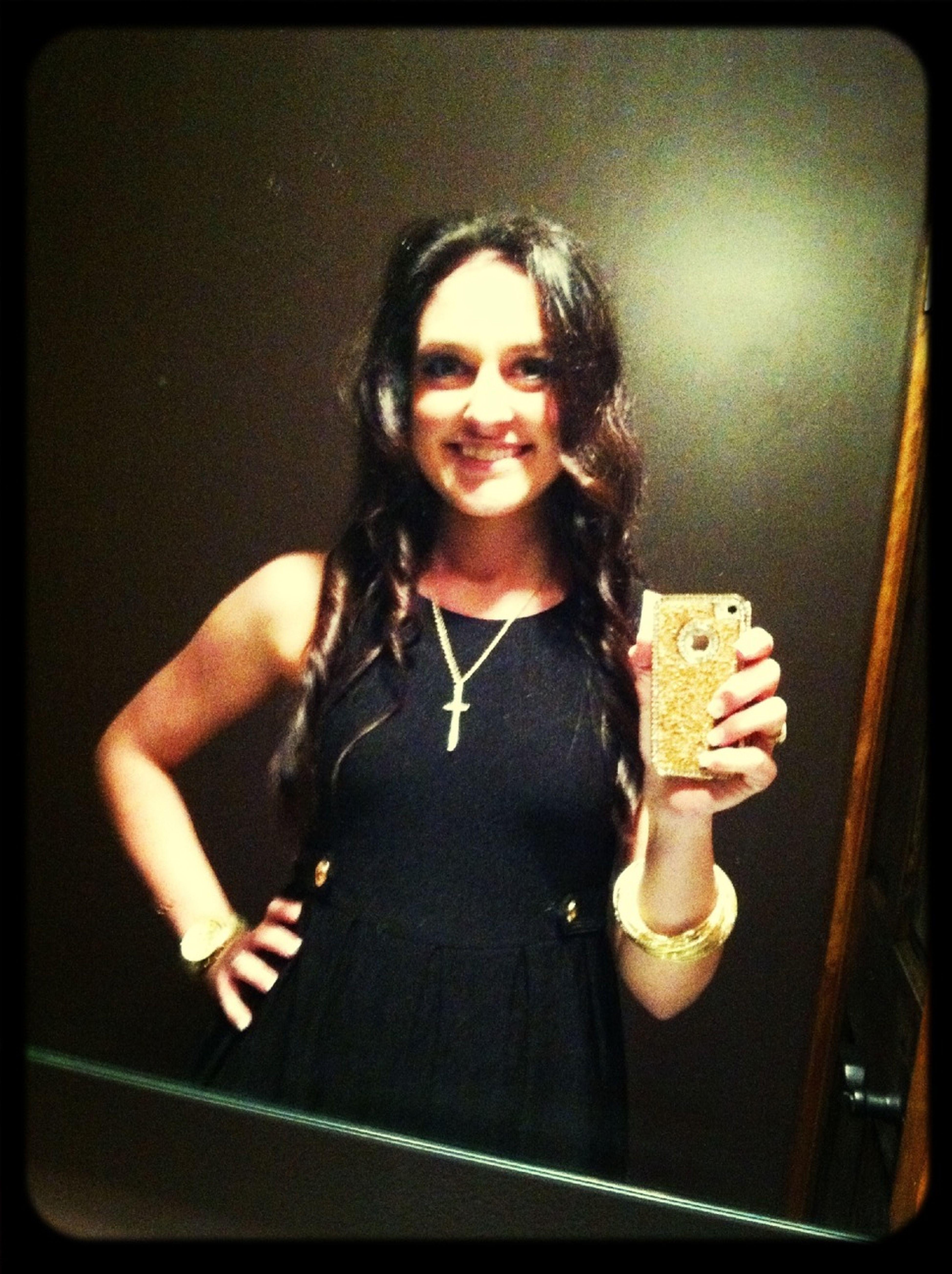 Christmas mirror pic :)