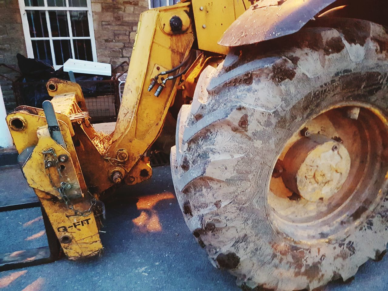 Built to last Transportation Mode Of Transport Land Vehicle Outdoors No People Day Tire Tyre Heavy Duty Heavy Duty Equipment Heavy Duty JCB Telescopic Handlers Plant Machine Machinery
