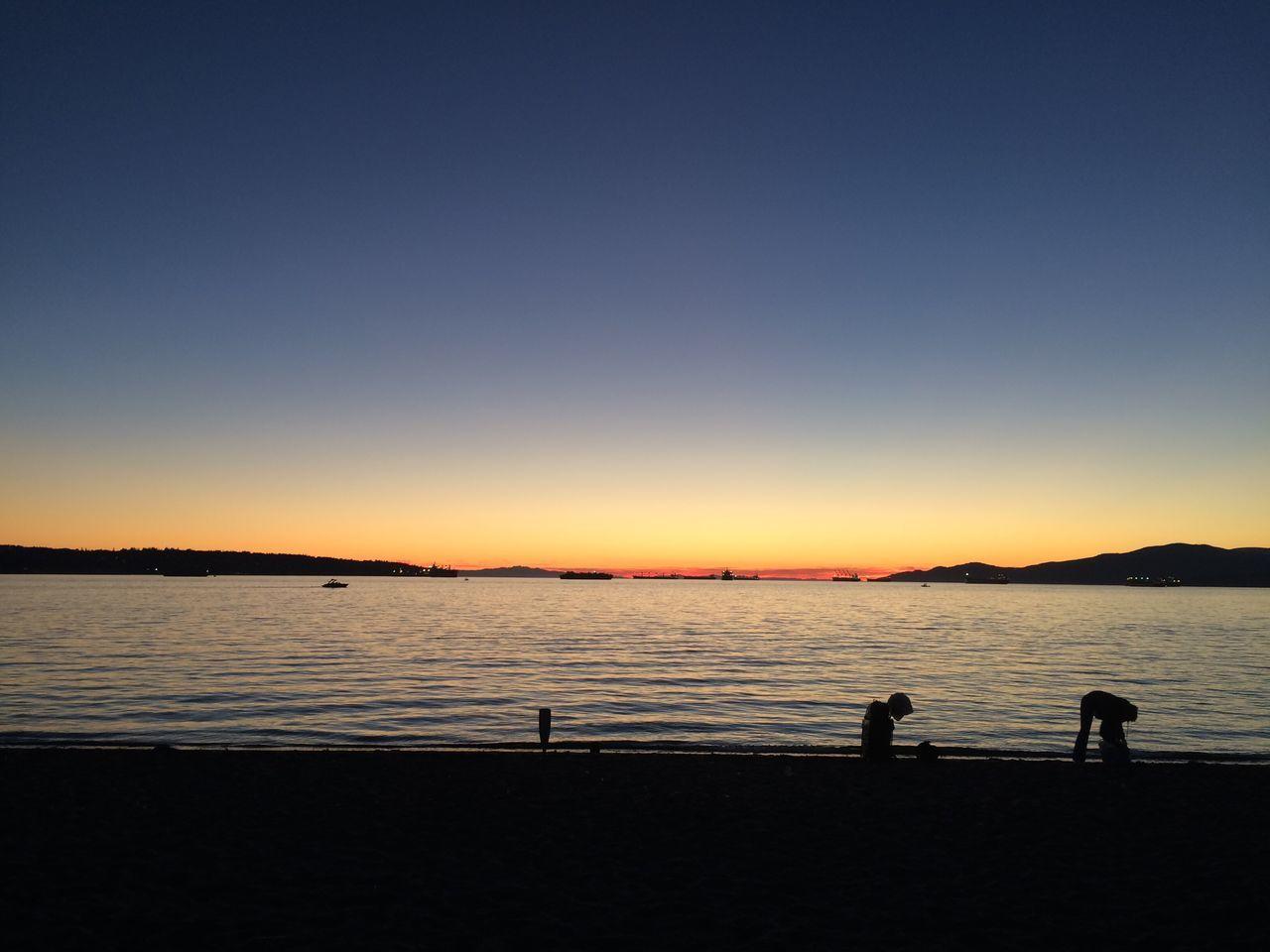 Ocean Sea Nature Englishbay Sunset Beautiful Nature